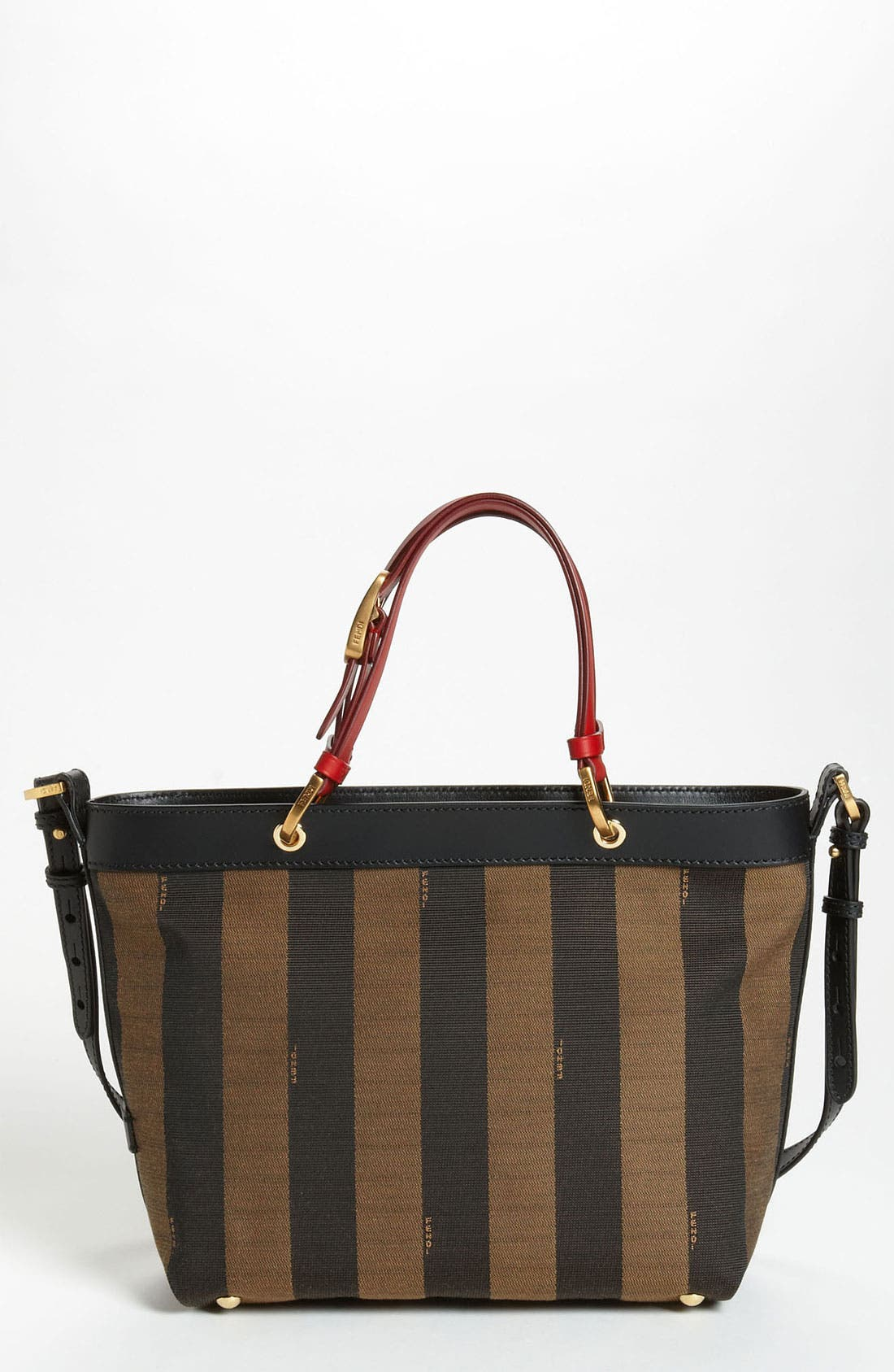 Alternate Image 1 Selected - Fendi 'Small Pequin' Shoulder Bag
