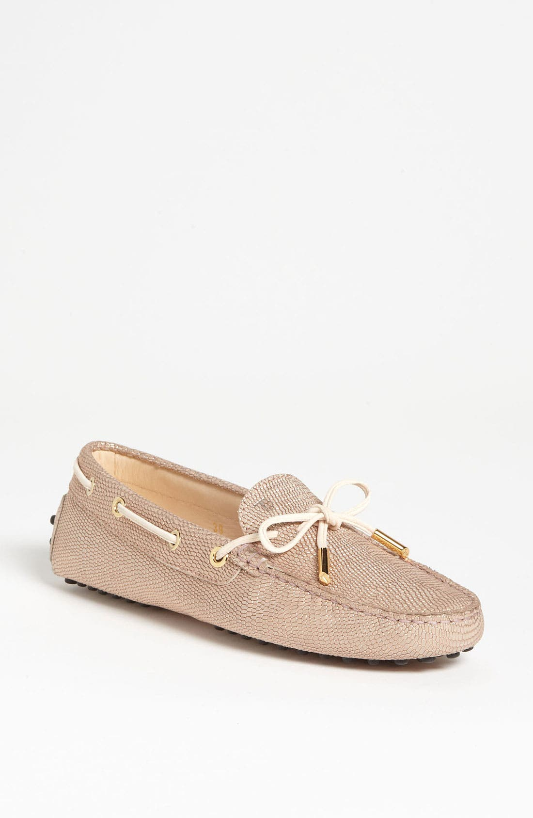 Alternate Image 1 Selected - Tod's 'New Heaven Laccetto' Moccasin