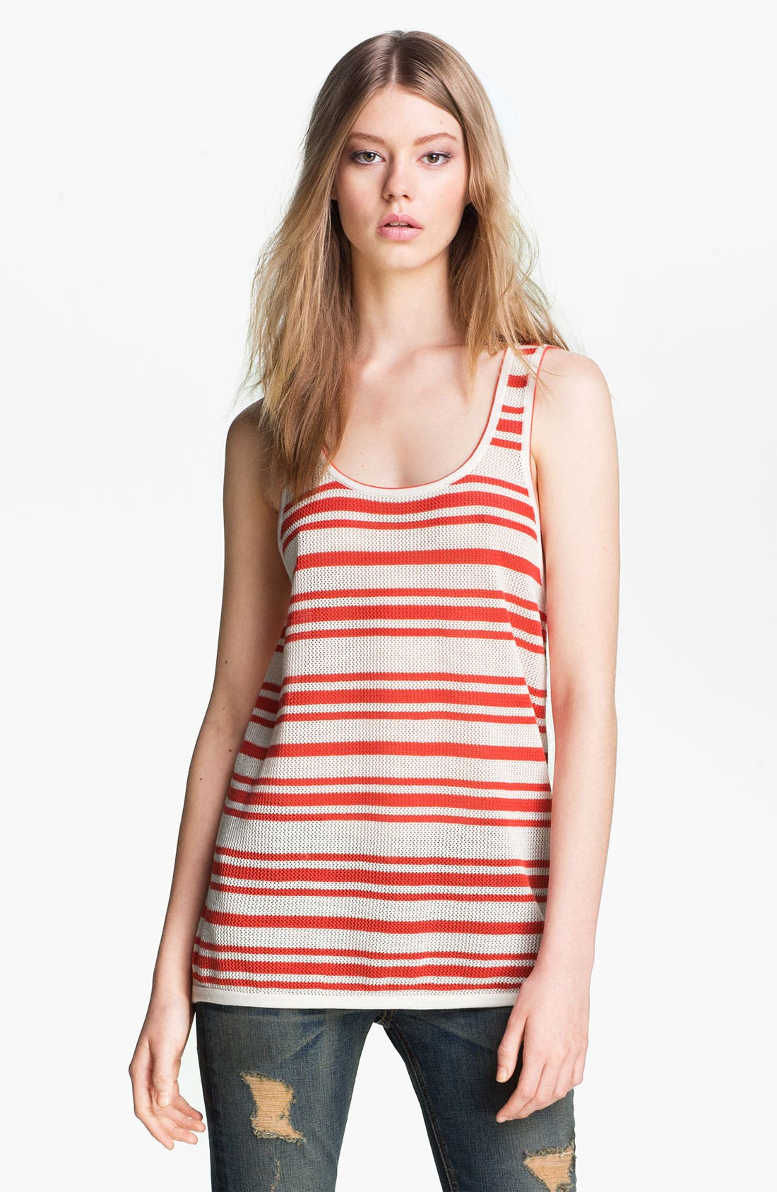 Alternate Image 2  - rag & bone/JEAN 'Kathie' Stripe Tank