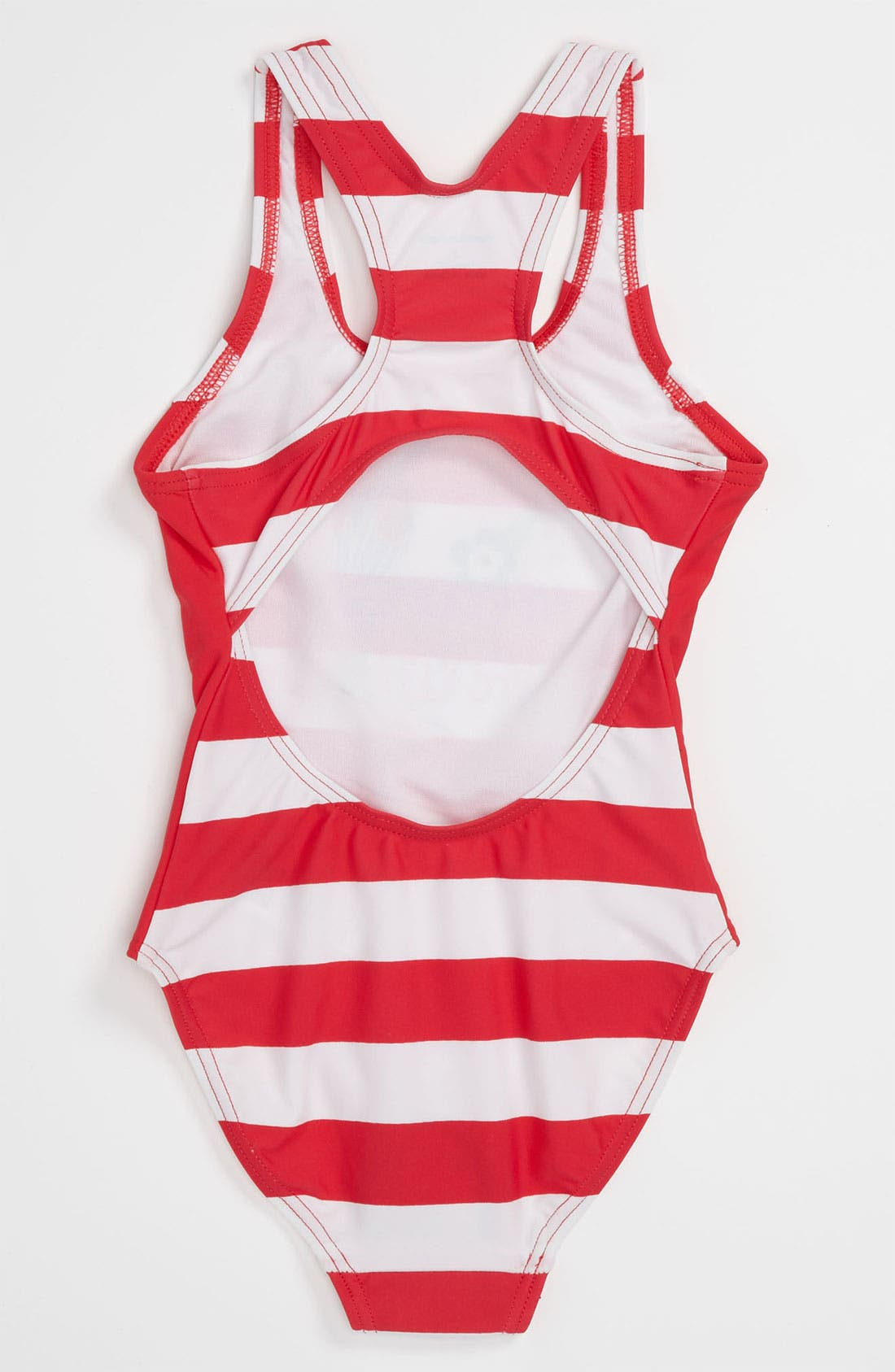 Alternate Image 2  - Pumpkin Patch One Piece Swimsuit (Toddler)