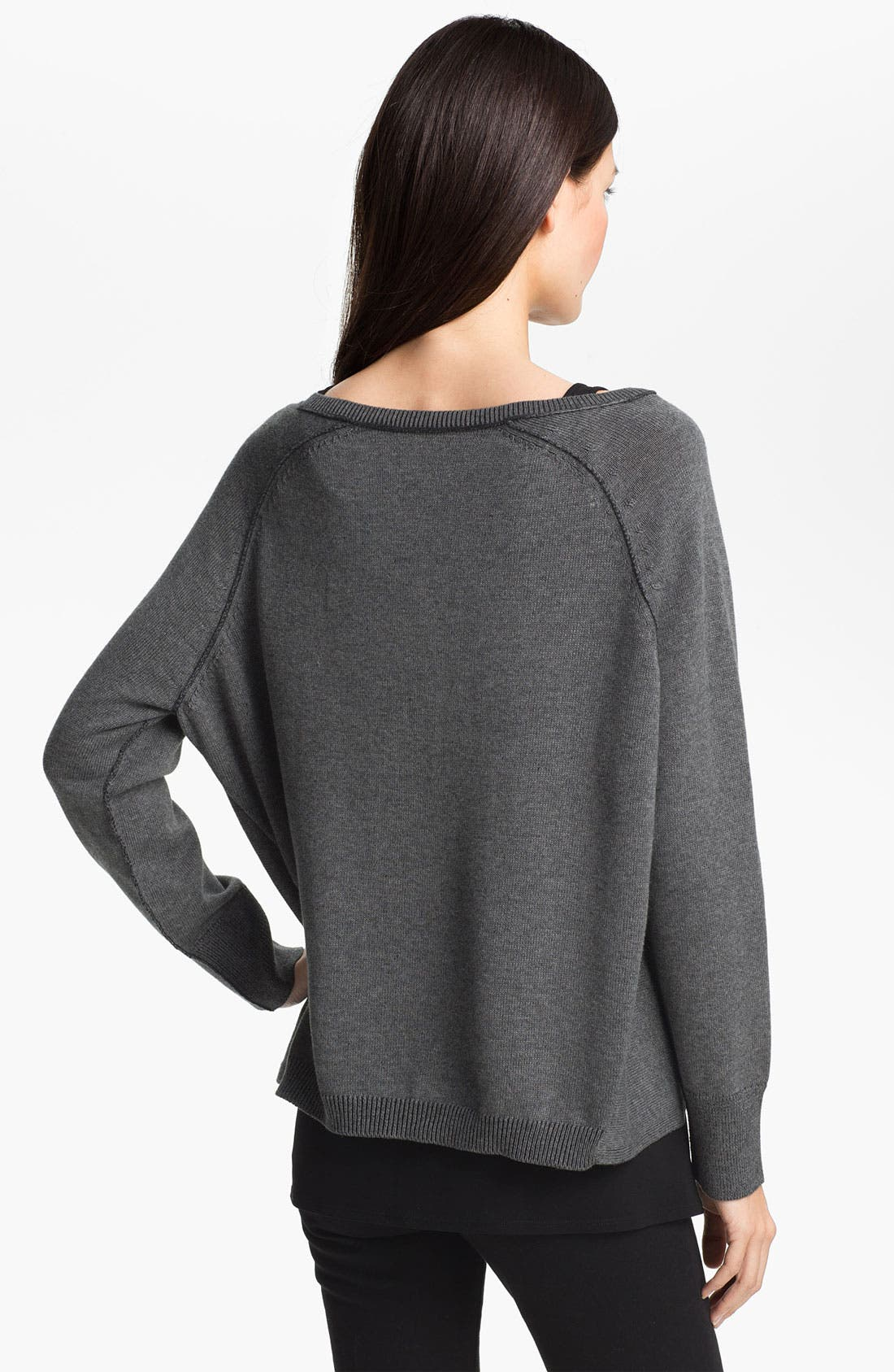 Alternate Image 2  - Eileen Fisher Boxy Organic Cotton Top (Online Exclusive)
