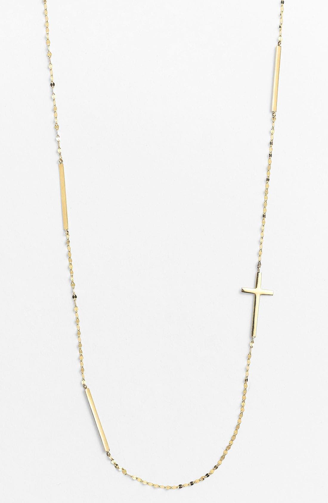 Main Image - Lana Jewelry Bar & Cross Station Necklace