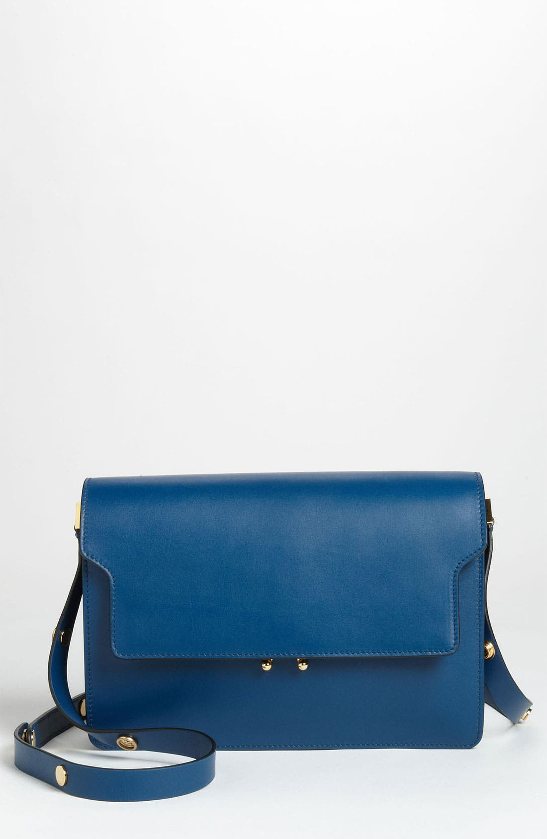 Main Image - Marni Double Partition Leather Crossbody Bag