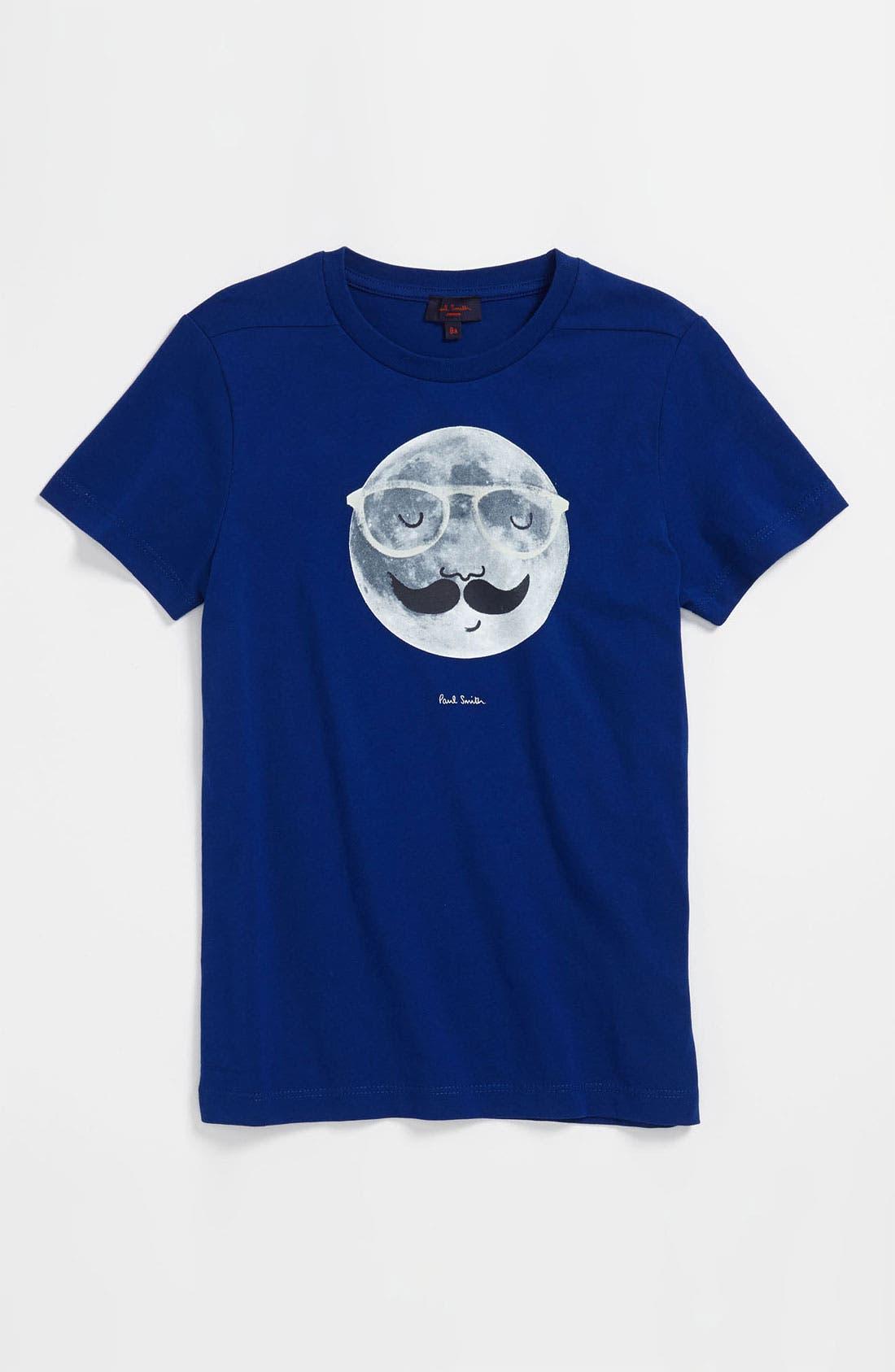 Main Image - Paul Smith Junior 'Dungannon' Screenprint T-Shirt (Little Boys & Big Boys)