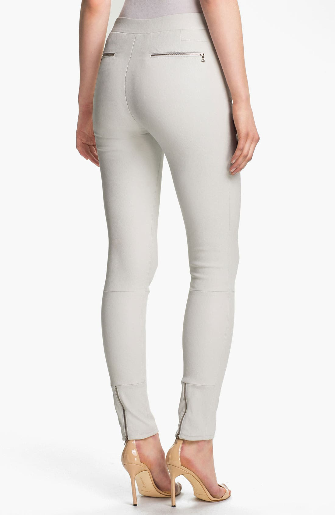 Alternate Image 2  - J Brand Ready-to-Wear 'Claudette' Stretch Leather Pants