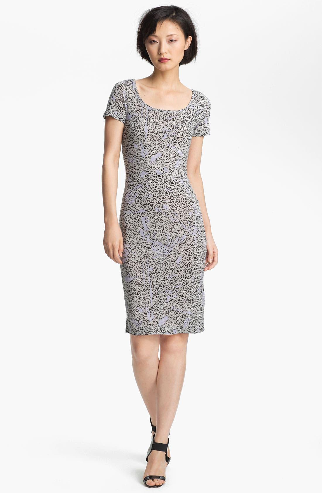 Main Image - Twenty8Twelve 'Moore' Print Jersey Dress