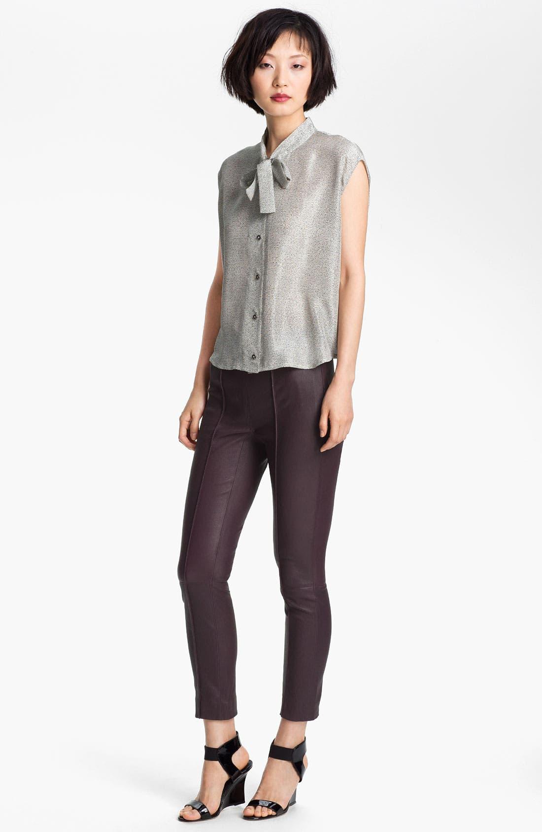 Alternate Image 3  - Twenty8Twelve 'Isiadore' Stretch Leather Pants