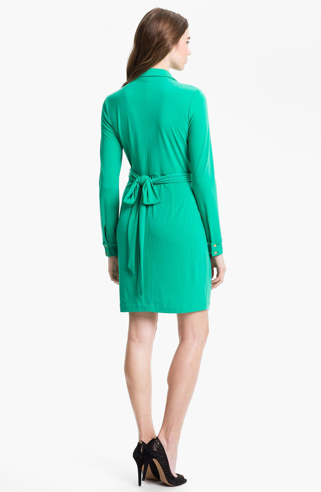 Alternate Image 2  - Vince Camuto Matte Jersey Faux Wrap Dress