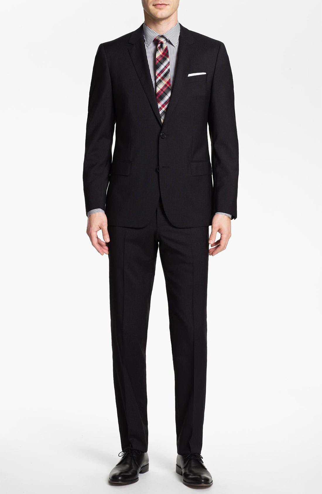 Alternate Image 2  - BOSS Black 'Huge/Genius' Trim Fit Suit