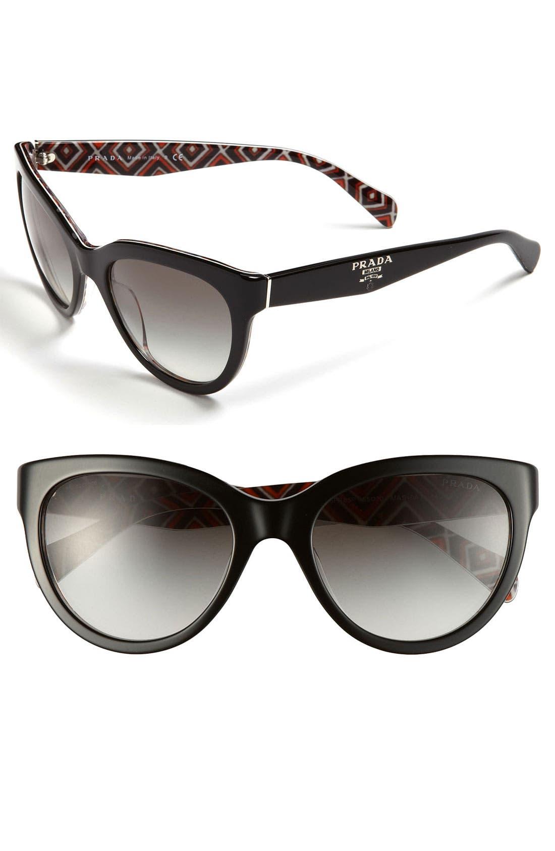 Alternate Image 1 Selected - Prada 'Timeless Phantos' 55mm Sunglasses