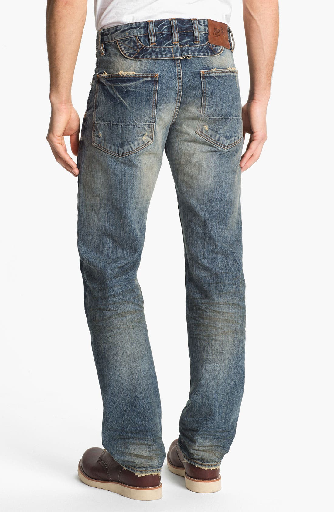 Alternate Image 2  - PRPS 'Myron Barracuda' Straight Leg Jeans (Light Wash)