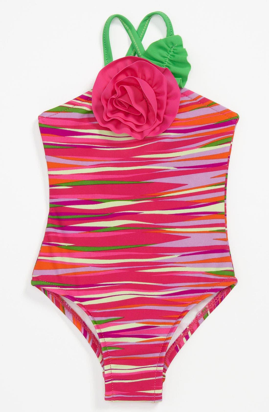 Main Image - Love U Lots One Piece Swimsuit (Baby)