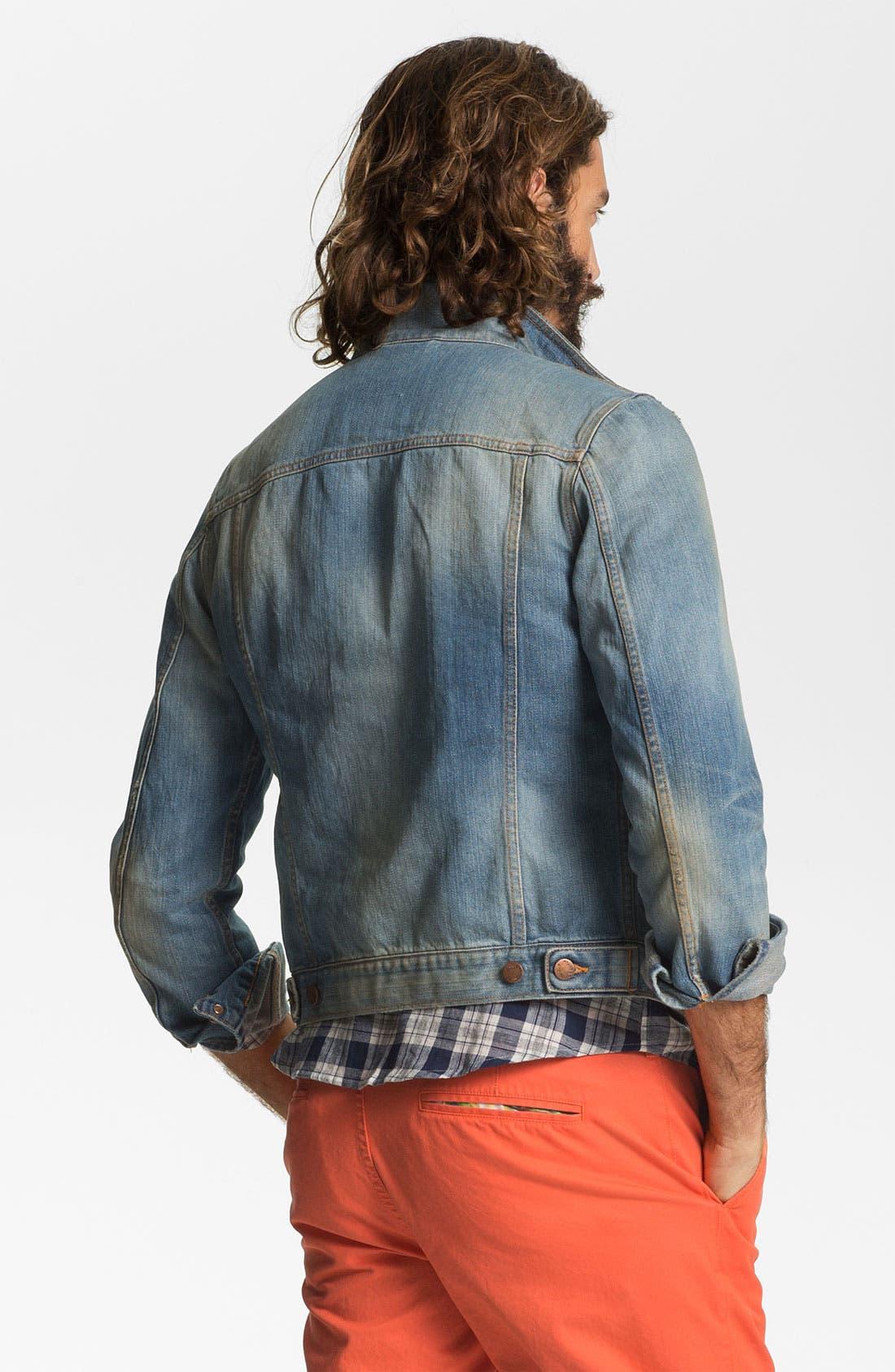 Alternate Image 2  - Nudie 'Perry' Denim Jacket