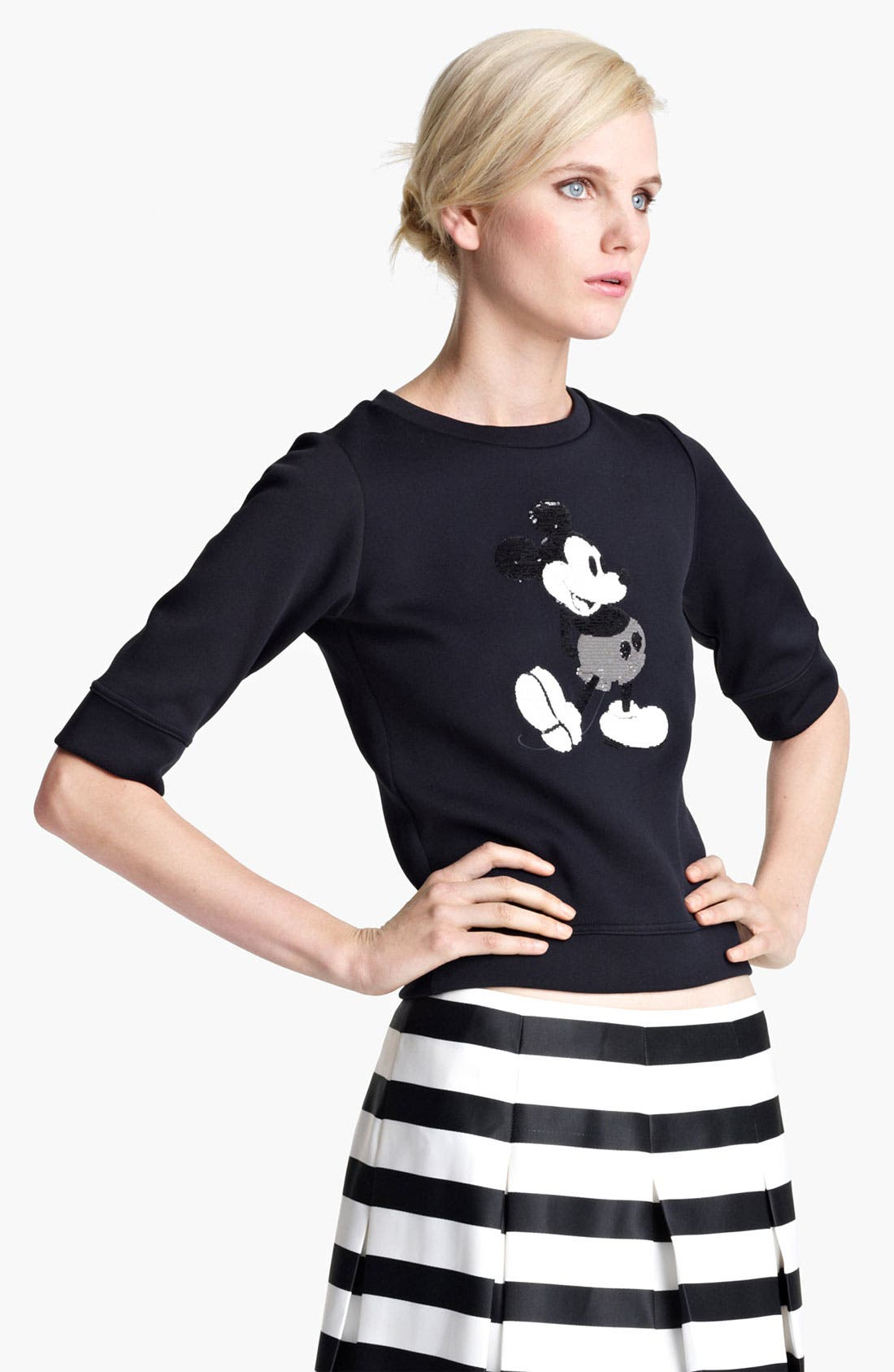 Alternate Image 2  - MARC JACOBS Mickey Mouse Sweatshirt