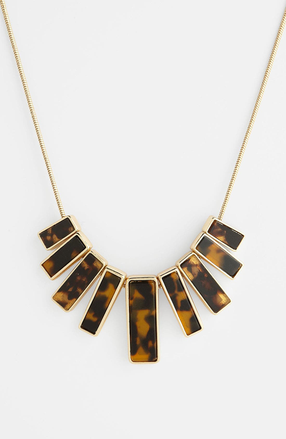 Alternate Image 1 Selected - Anne Klein 'Ridley' Bib Necklace