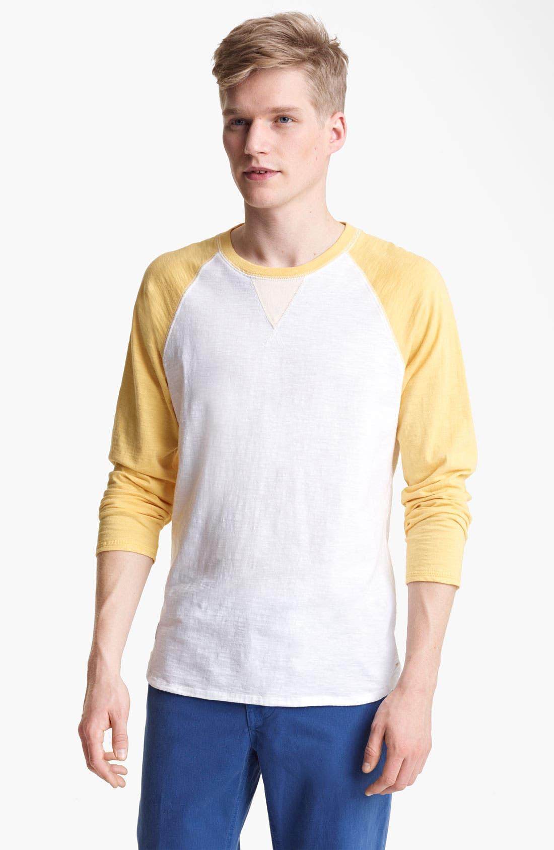 Alternate Image 1 Selected - Shipley & Halmos 'Fjord' Baseball T-Shirt