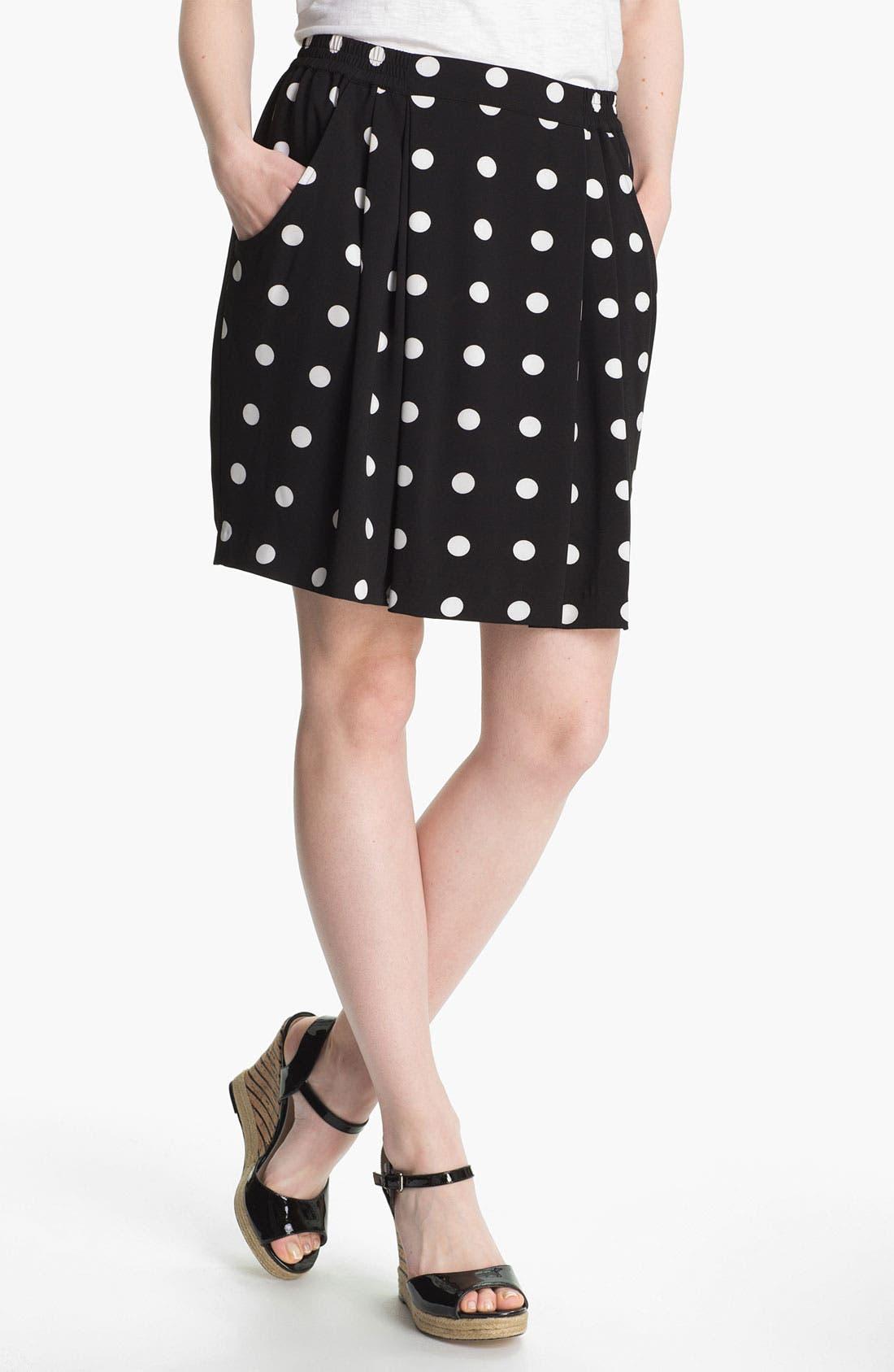 Alternate Image 1 Selected - Halogen®  Blazer & Skirt, Caslon® Tee