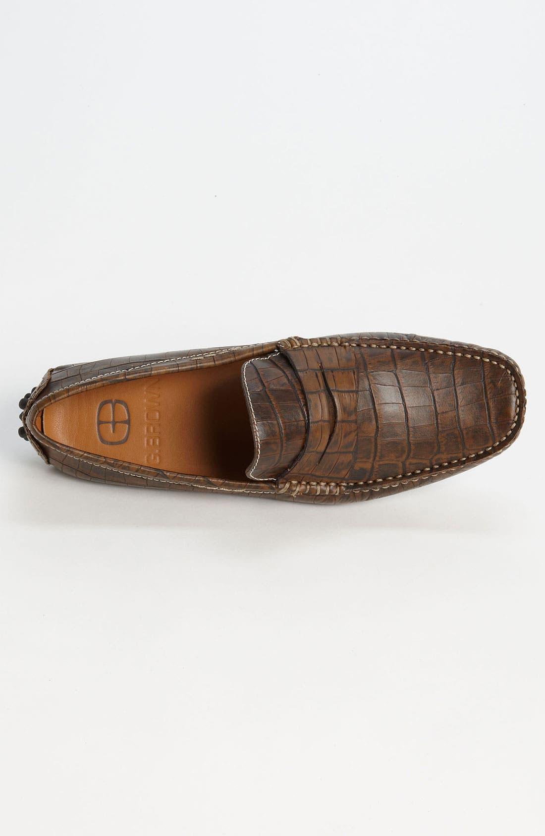 Alternate Image 3  - G Brown 'Tortola' Driving Shoe
