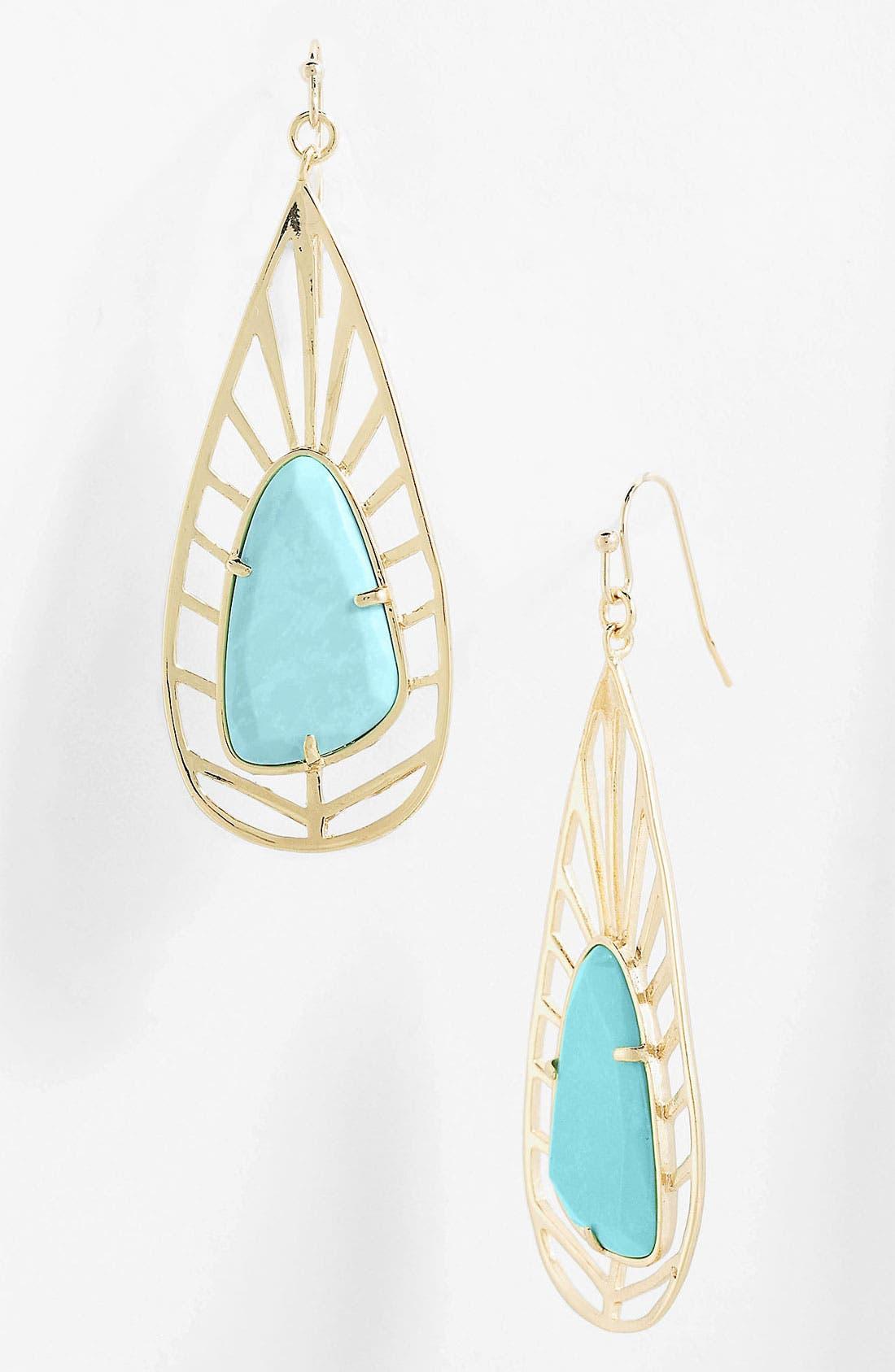 Main Image - Kendra Scott 'Lyra' Teardrop Earrings