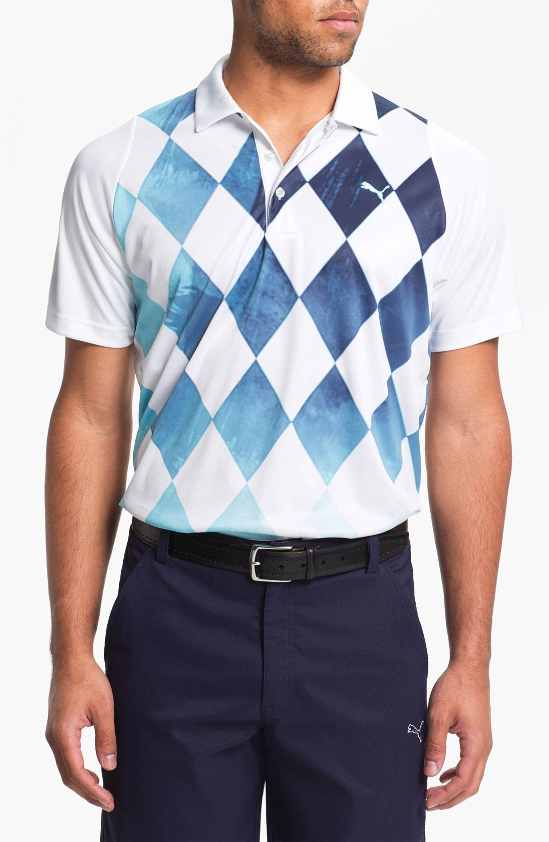 Alternate Image 1 Selected - PUMA GOLF 'Duo-Swing' dryCELL™ Tech Polo