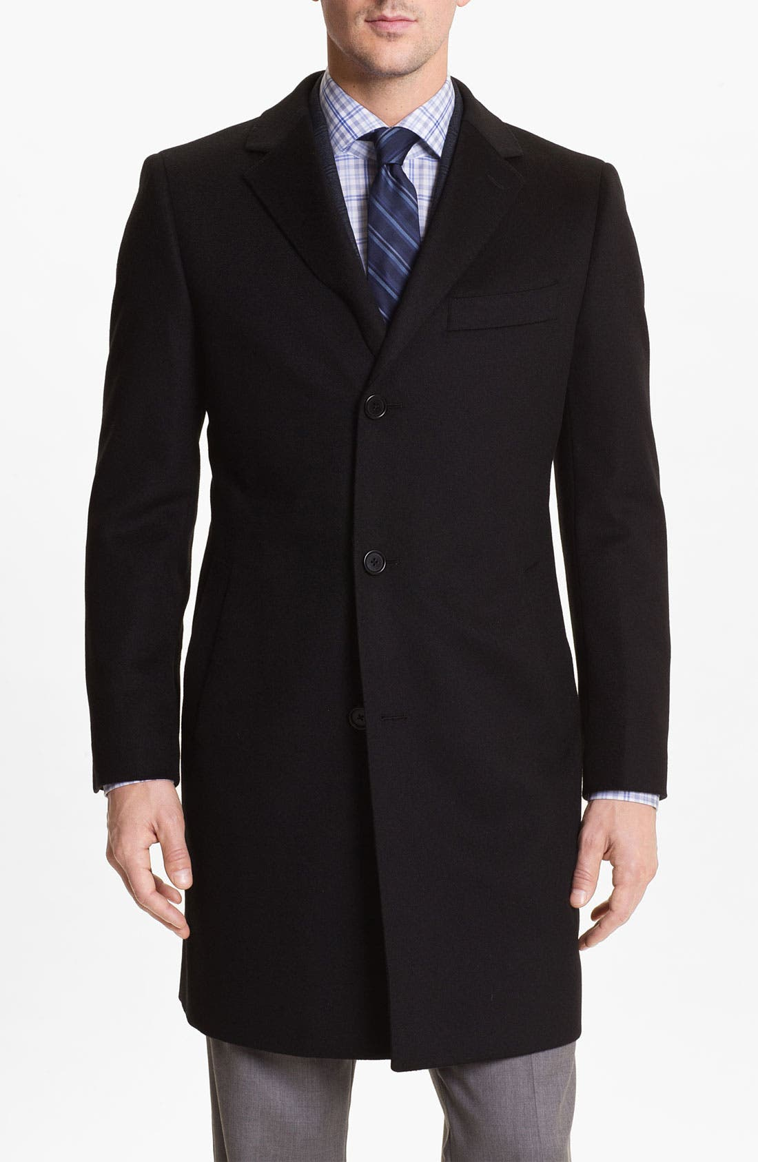 Alternate Image 1 Selected - Cardinal of Canada Wool Blend Topcoat