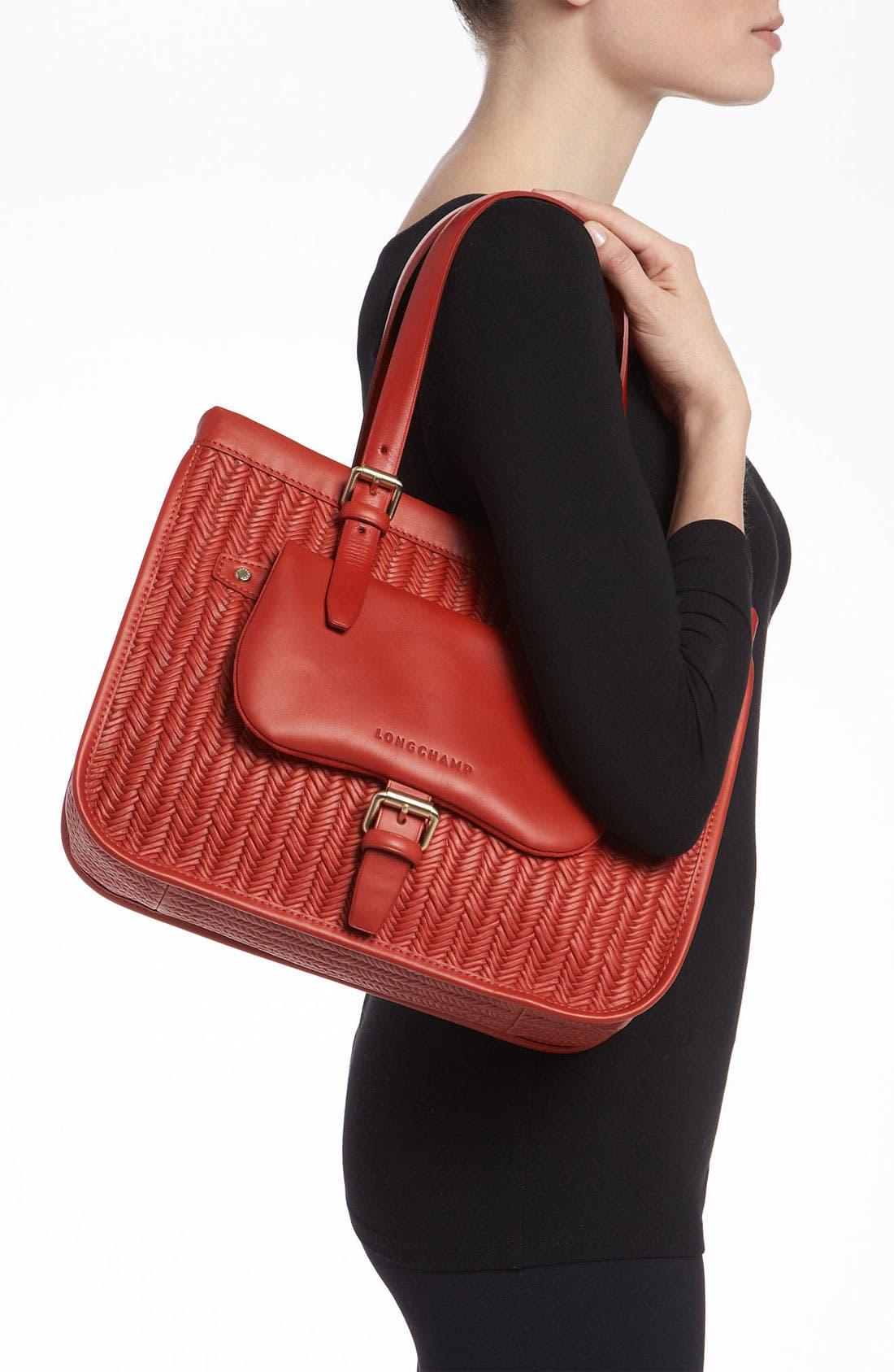 Alternate Image 2  - Longchamp 'Balzane Paille' Shoulder Tote