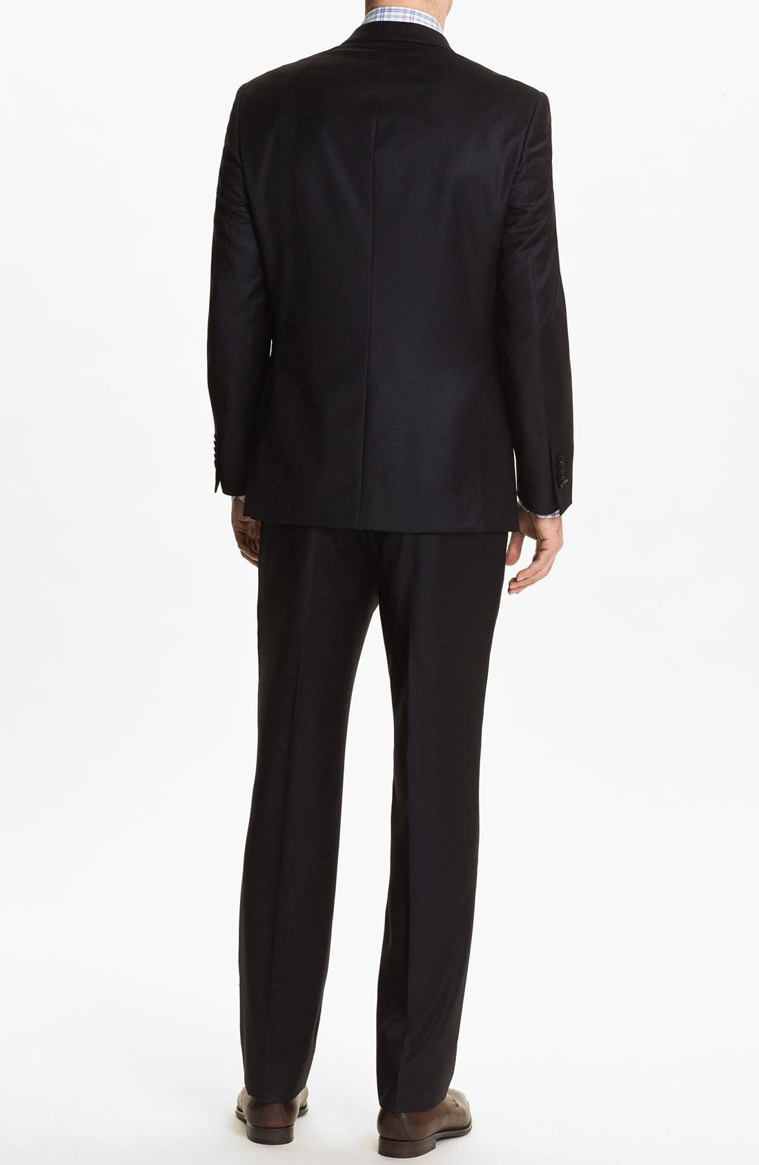 Alternate Image 2  - English Laundry Trim Fit Wool Suit (Online Only)