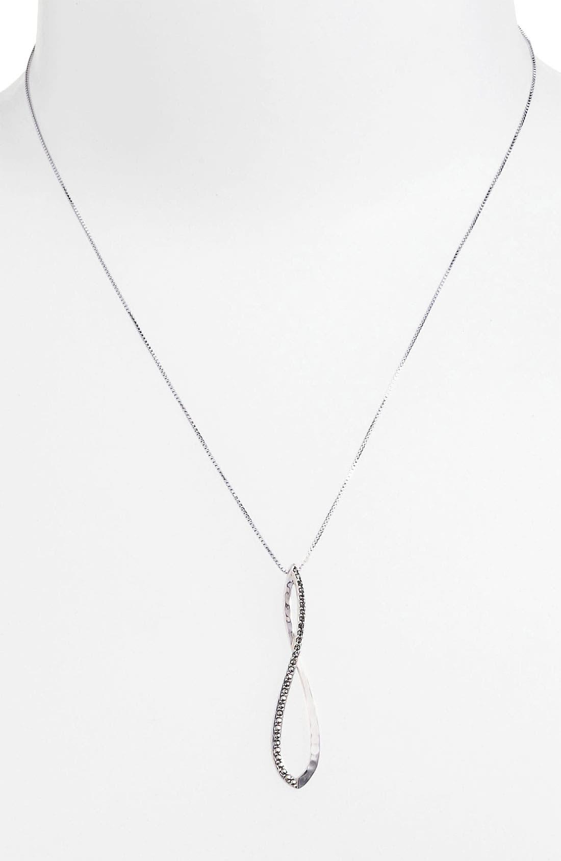 Alternate Image 1 Selected - Judith Jack 'Fluidity' Pendant Necklace