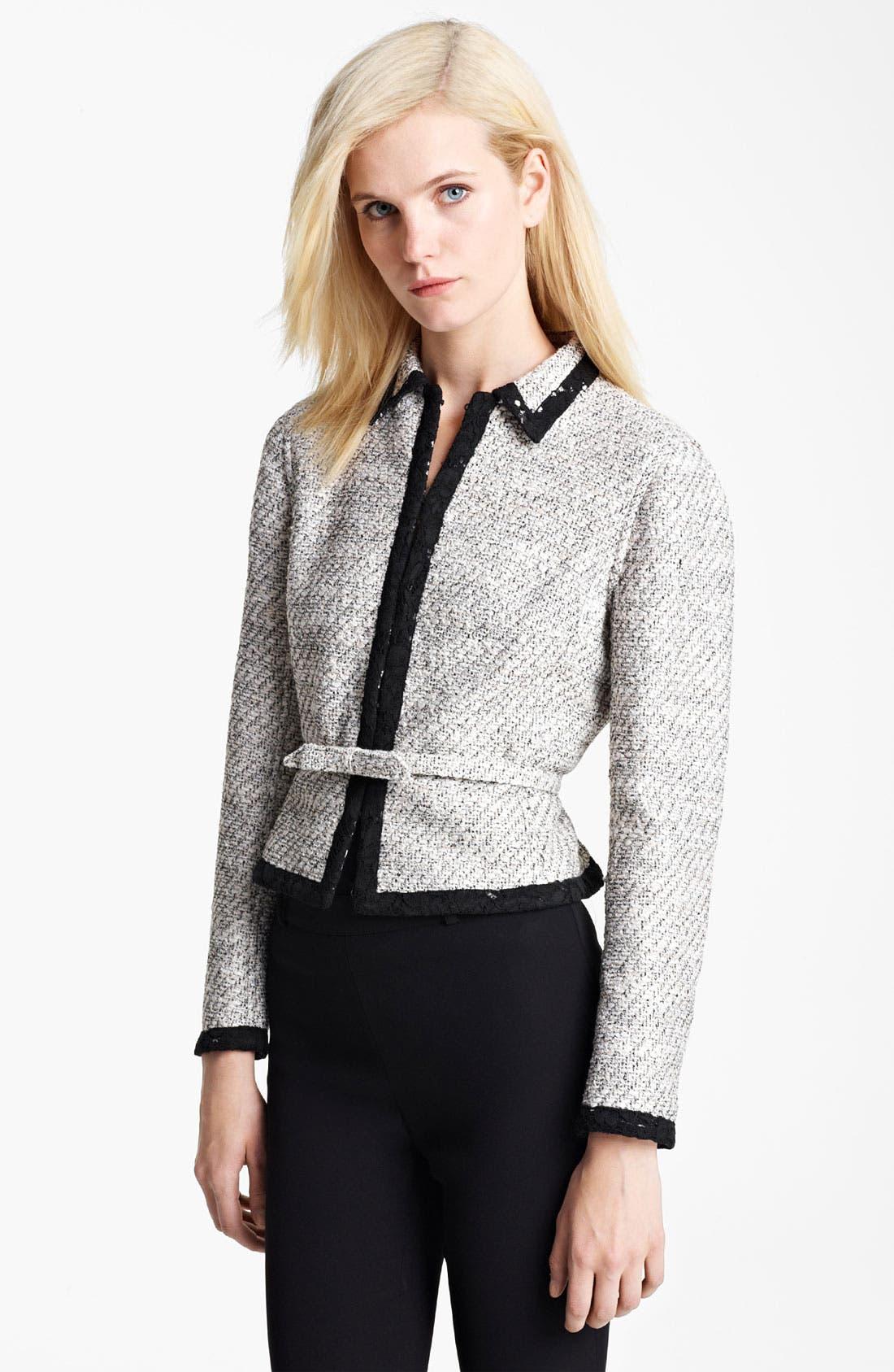Main Image - Valentino Belted Reversible Jacket