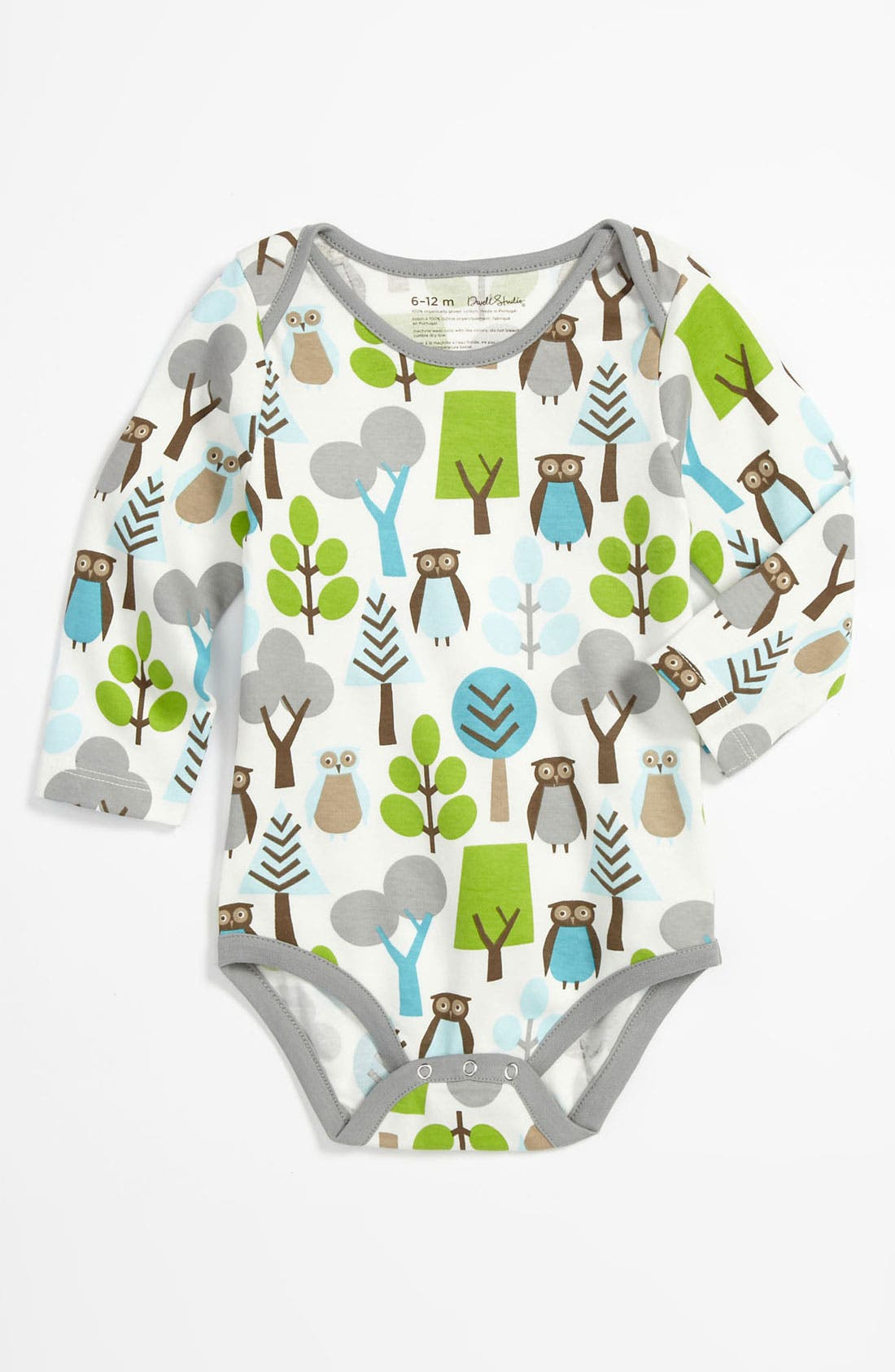 Main Image - DwellStudio 'Owl' Bodysuit (Infant)