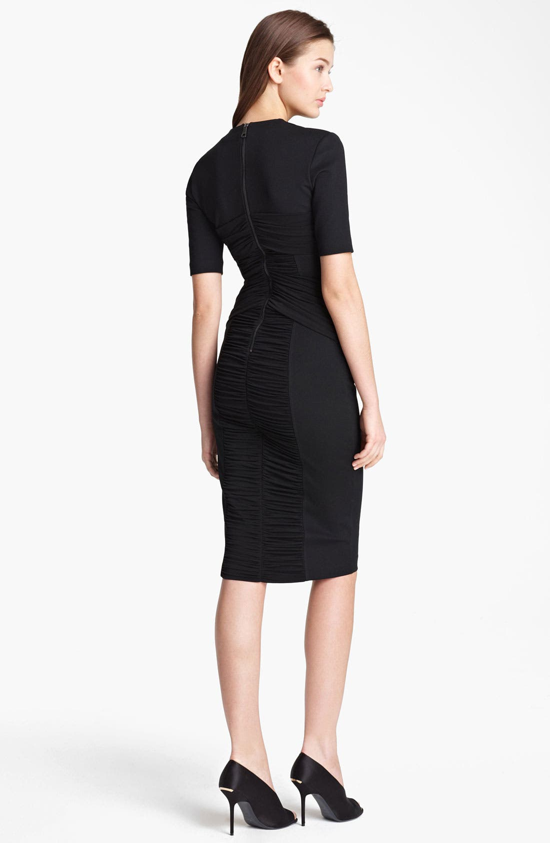 Alternate Image 2  - Burberry London Twisted Jersey Dress