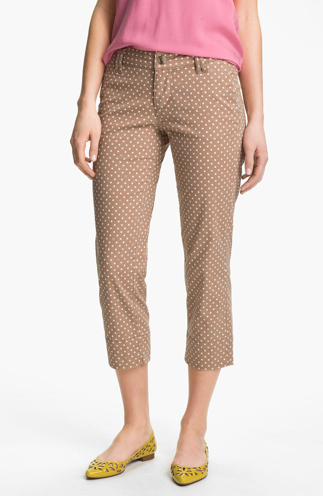 Alternate Image 2  - Jag Jeans 'Maitland' Crop Twill Pants (Petite)