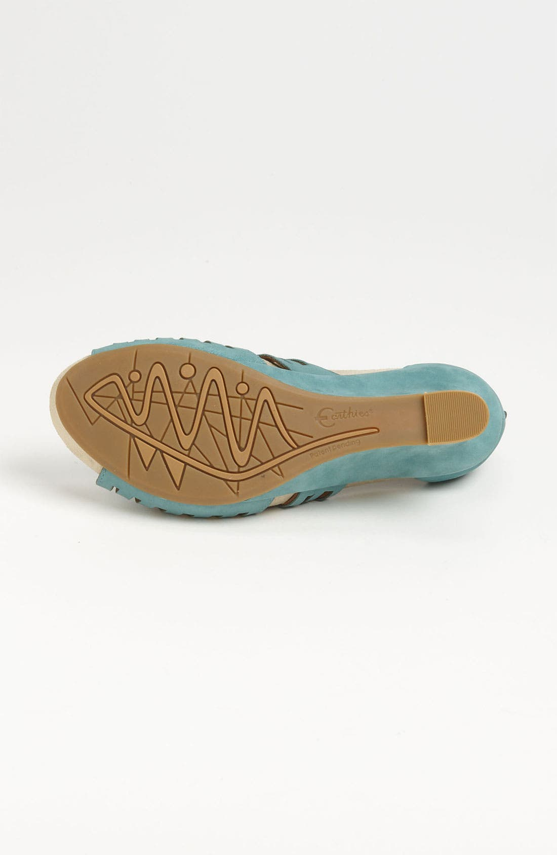 'Caradonna' Sandal,                             Alternate thumbnail 4, color,                             Light Teal