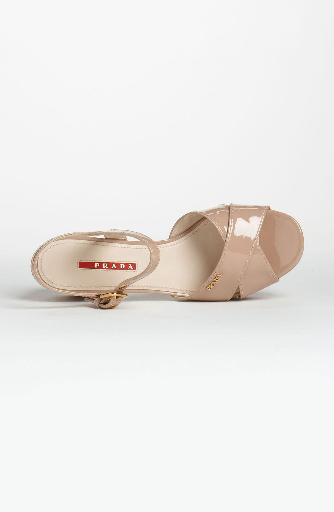 Alternate Image 3  - Prada Cork Heel Sandal