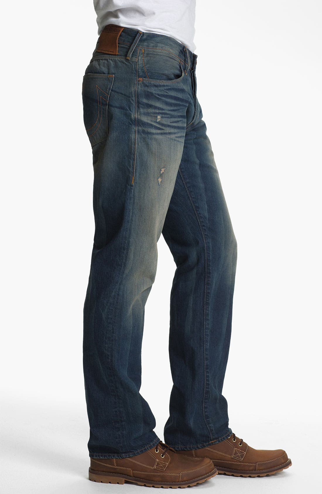 Alternate Image 3  - True Religion Brand Jeans 'Bobby 50s' Straight Leg Jeans (Deadwood)