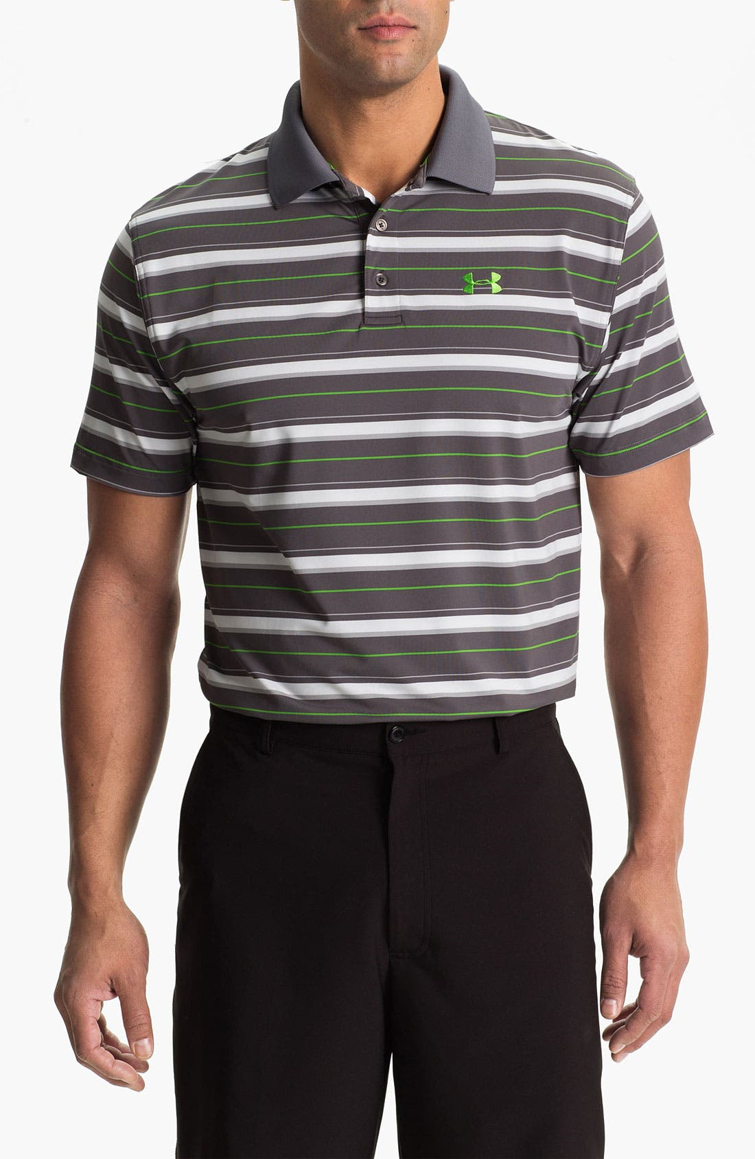 Alternate Image 1 Selected - Under Armour HeatGear® Performance Polo
