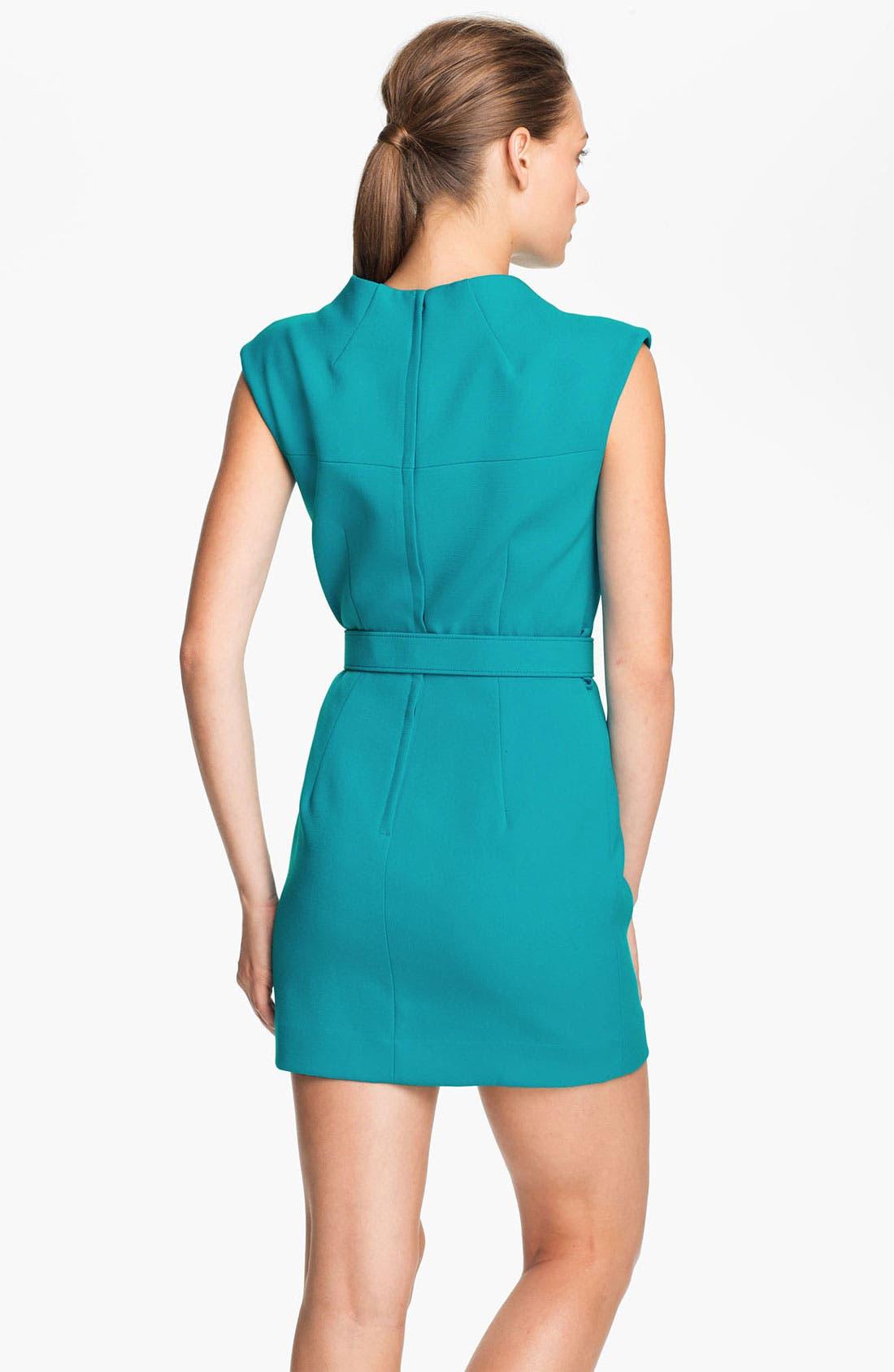 Alternate Image 2  - Milly Belted Sheath Dress