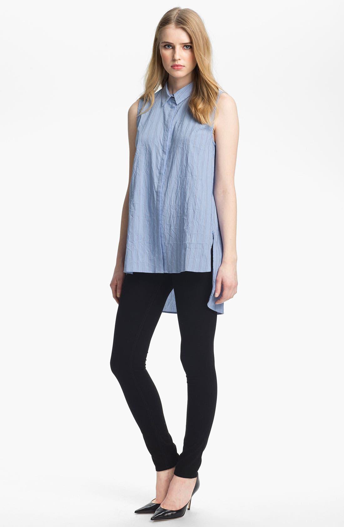 Alternate Image 1 Selected - Elizabeth and James 'Estelle' Crumpled Sleeveless Shirt