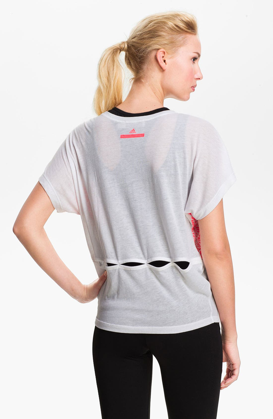 'Essentials' Graphic Tee,                             Alternate thumbnail 2, color,                             White