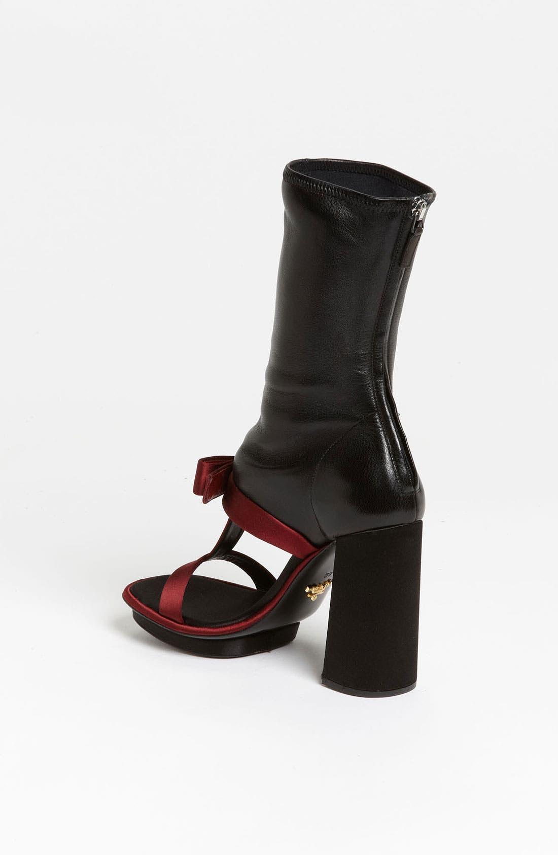 Alternate Image 2  - Prada T-Strap Open Boot