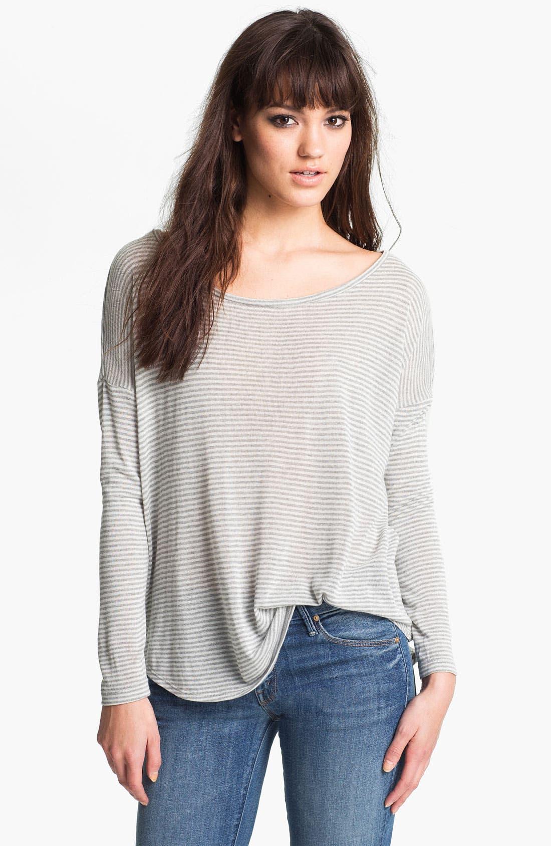 Alternate Image 1 Selected - Soft Joie Drop Shoulder Stripe Top