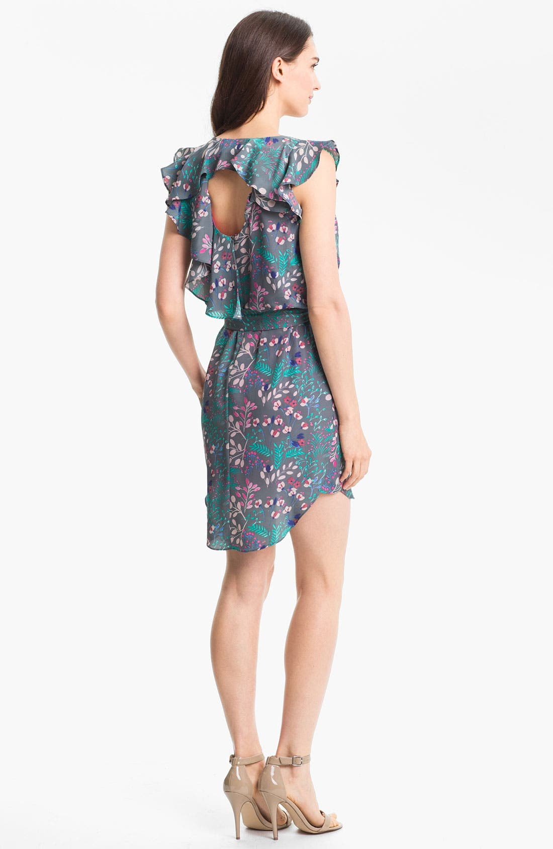Alternate Image 2  - Jessica Simpson Print Blouson Dress