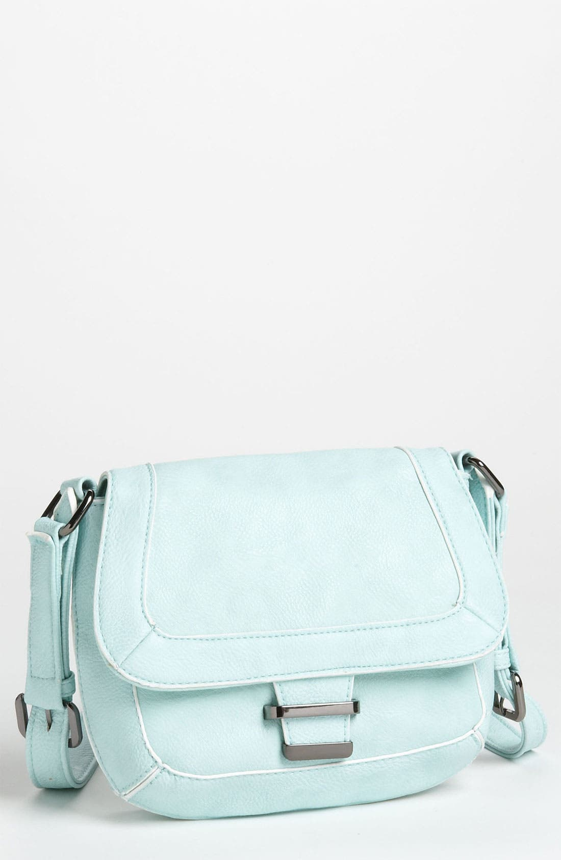 Alternate Image 1 Selected - POVERTY FLATS by rian Piped Crossbody Bag