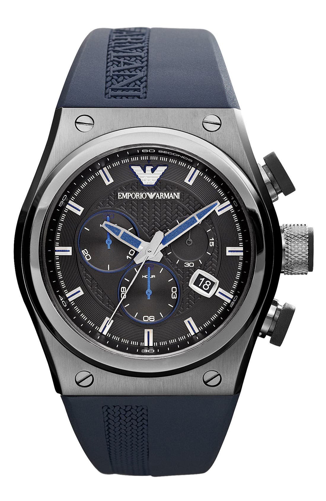 Alternate Image 1 Selected - Emporio Armani Sport Watch, 48mm