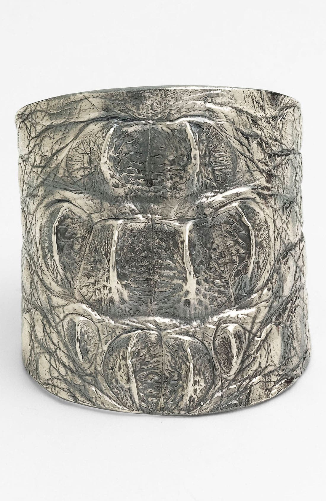 Alternate Image 1 Selected - Tom Binns Wide Croc Embossed Cuff