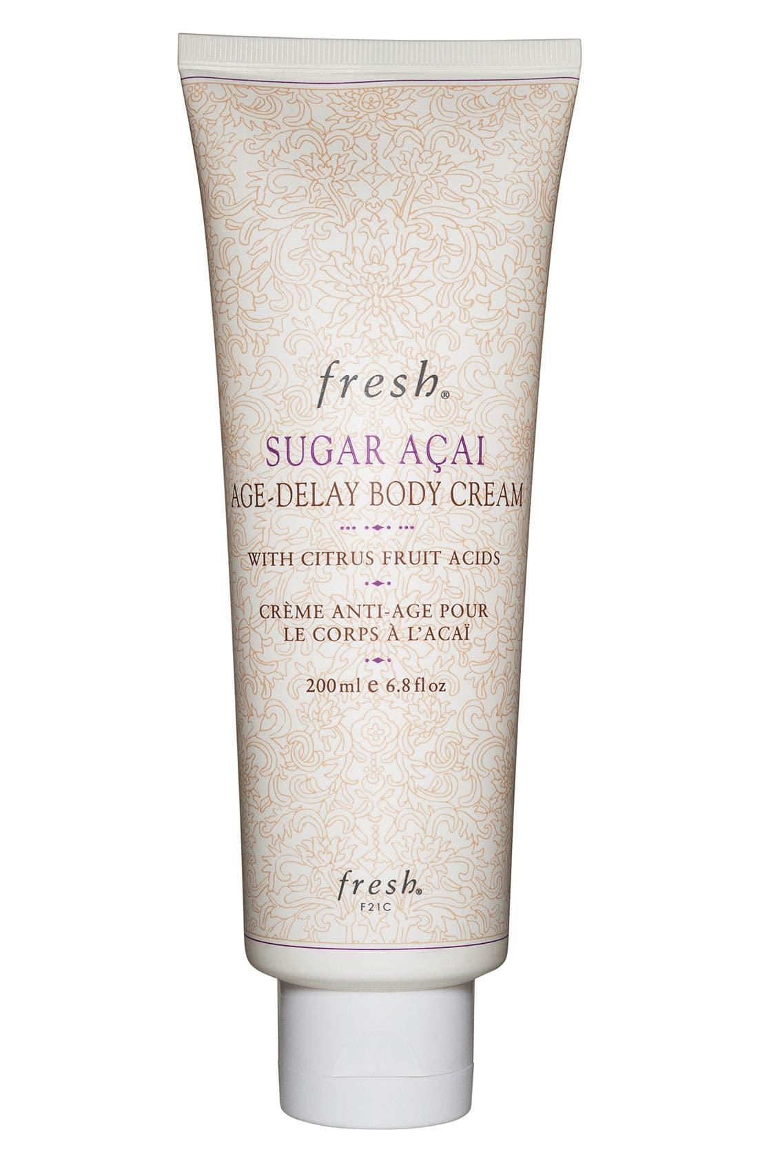 Fresh® 'Sugar Açai Age-Delay' Body Cream