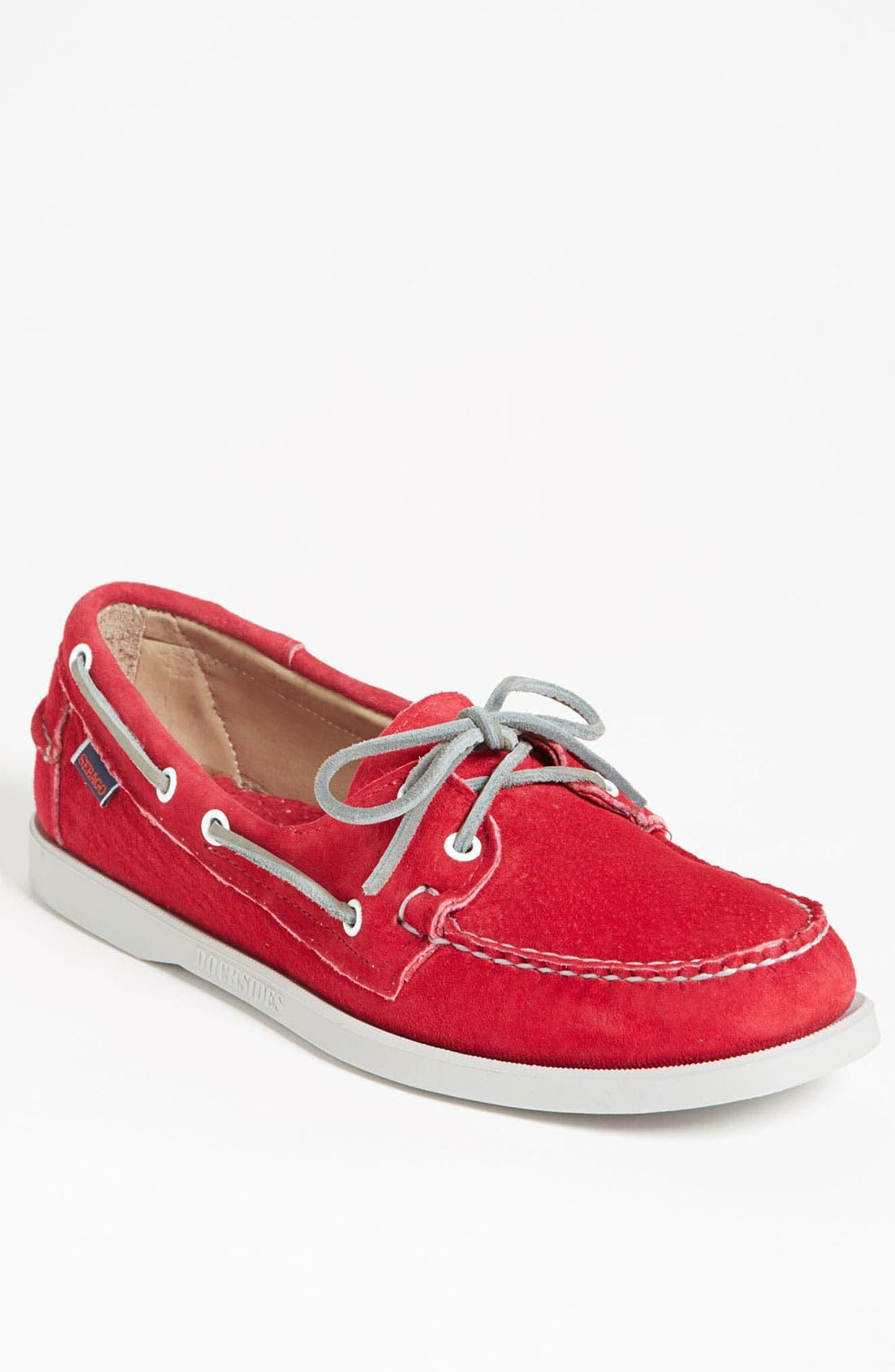 Alternate Image 1 Selected - Sebago 'Docksides®' Suede Boat Shoe