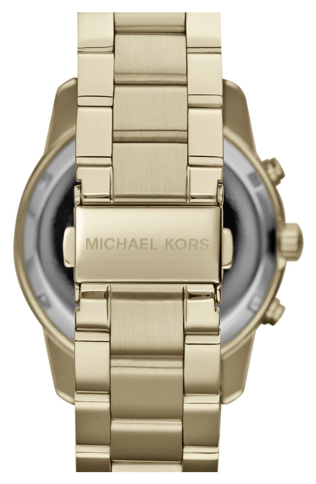 Alternate Image 3  - Michael Kors 'Mercer' Chronograph Bracelet Watch, 41mm