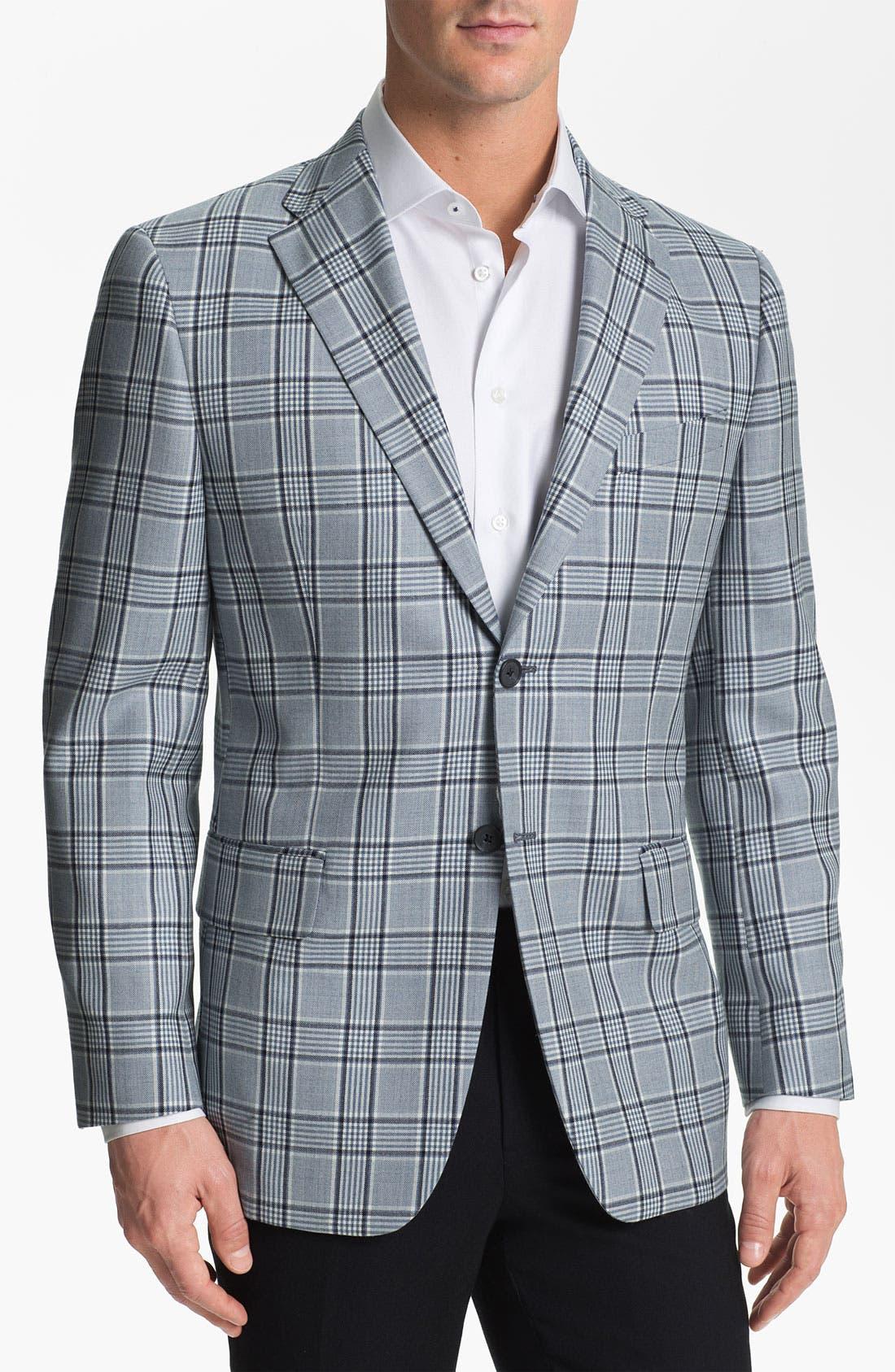 Alternate Image 1 Selected - Joseph Abboud Plaid Sportcoat
