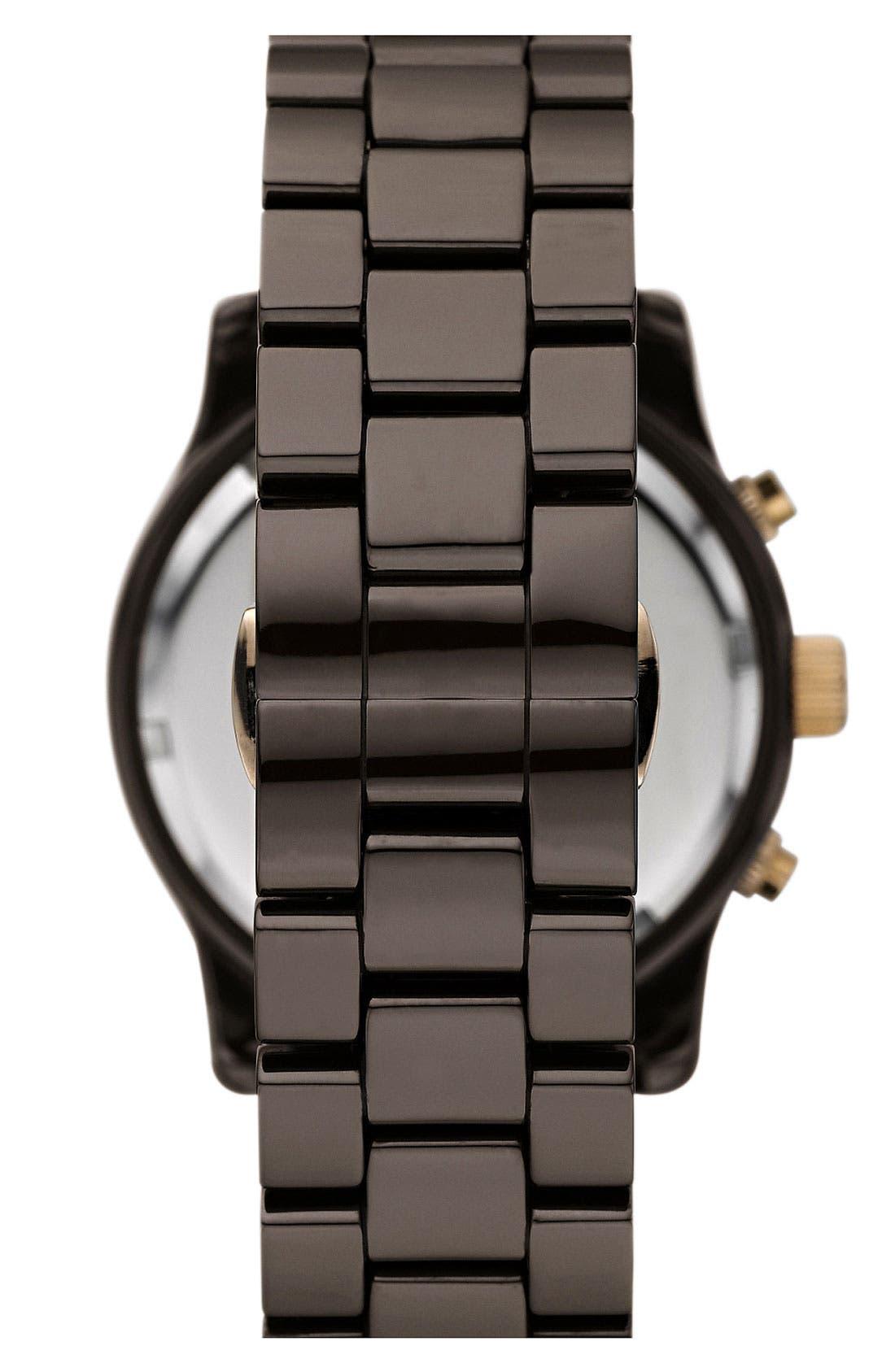 Alternate Image 2  - Michael Kors 'Runway Ceramic' Watch, 40mm